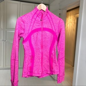 Rare Lululemon define jacket Paris pink